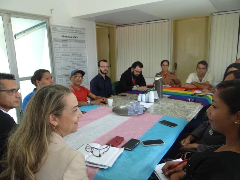 Grupo de Trabalho LGBT se reúne na SSP para discutir novas ações