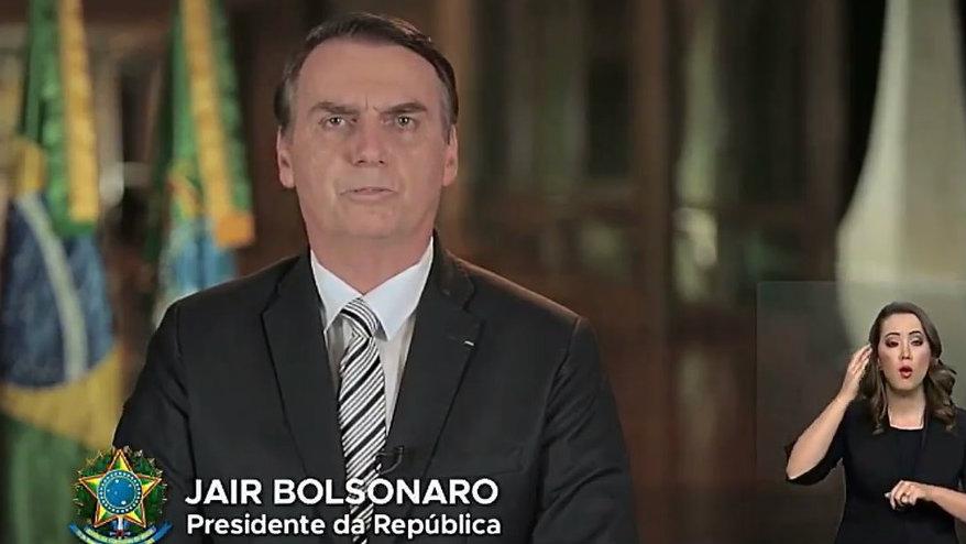 Em pronunciamento pela TV Bolsonaro diz que reforma da Previdência será justa para todos