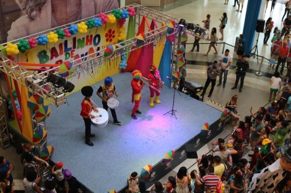 Folia kids no Teresina Shopping dias 17 e 24 de fevereiro