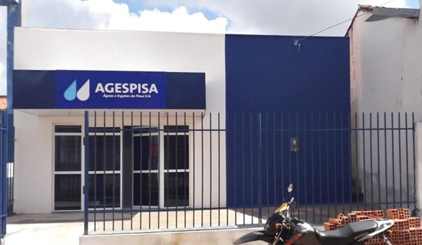 Agespisa conclui obra do novo escritório de Barras