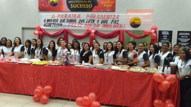 Mulheres do Armazém Paraíba, filial de Floriano, são homenageadas no Dia Internacional da Mulher