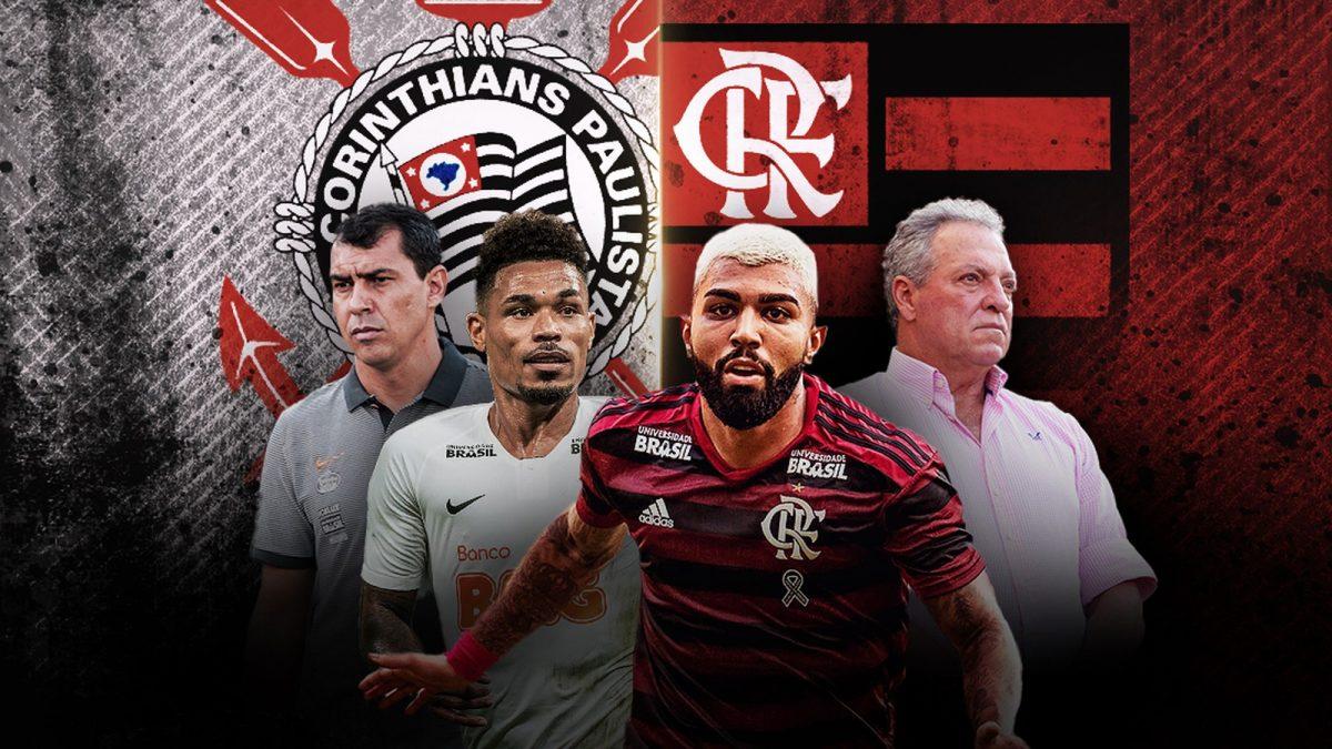 Caras novas, pressão antiga: Corinthians e Flamengo voltam a decidir vaga na Copa do Brasil