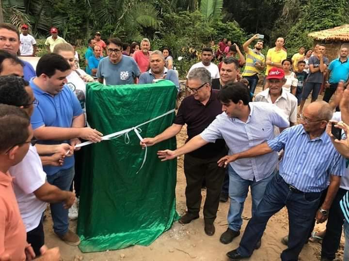 """Prefeitura de Palmerais cumpre promessa e inaugura a Ponte do """"Espírito Santo"""""""