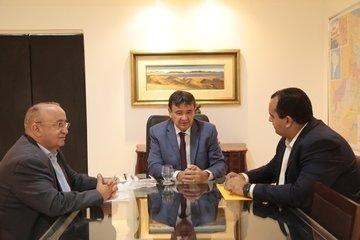 Governador trata com coordenador da bancada do nordeste sobre revisão do pacto federativo