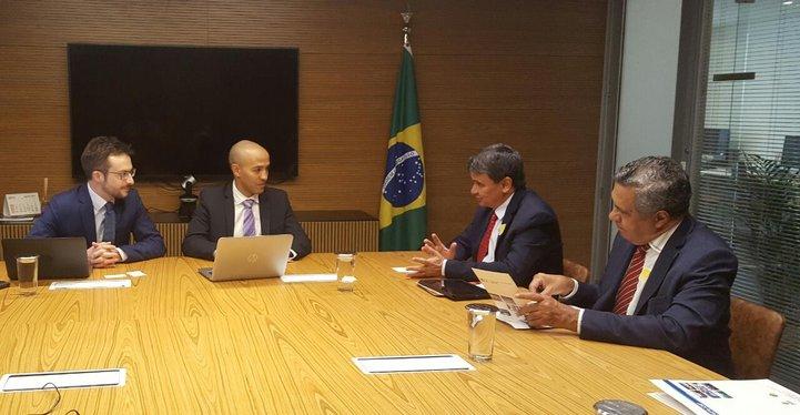 Governador tem encontro com representantes da Agência Francesa de Desenvolvimento