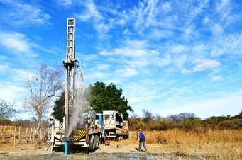 Fartura do Piauí recebe obras de perfuração de poços para garantir água potável
