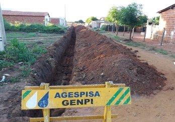 Agespisa amplia rede de abastecimento em Santa Rosa e Santo Inácio do Piauí
