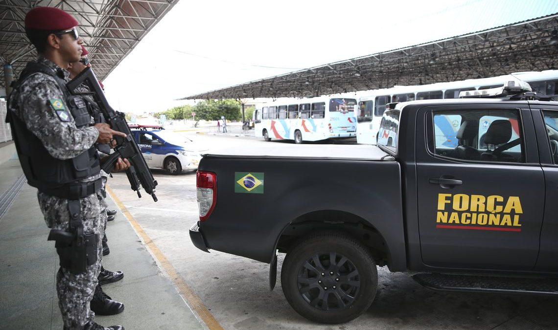 Prorrogada por 90 dias atuação da Força Nacional no Ceará