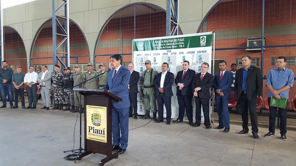 Governo do Estado entrega 11 viaturas para a Polícia Militar de 7 cidades
