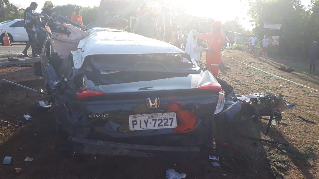 Médico Tovar Luz morre em grave acidente de carro com veículo de carga na BR-343