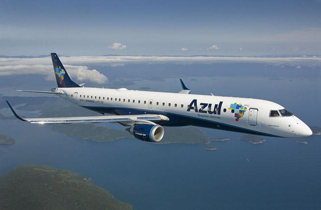 Azul deixa de operar na linha Teresina/Fortaleza em novembro