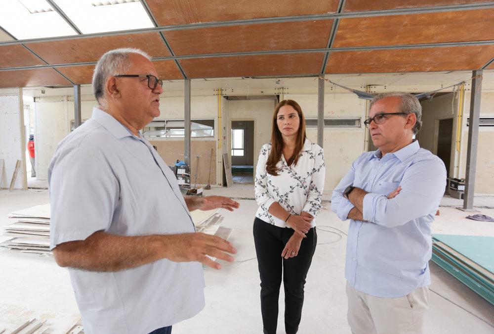 Prefeitura tem obras na área de educação que serão entregues no primeiro semestre de 2020