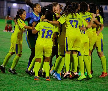 Tiradentes e Boca Juniors vão decidir a Copa Cidade Verde de Futebol Feminino Sub-17