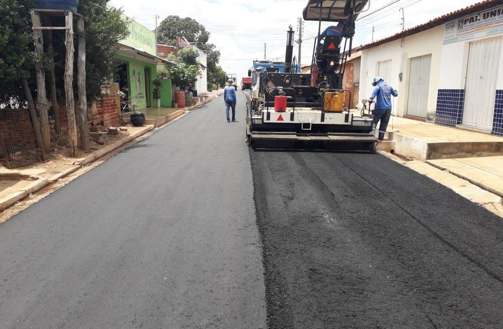 Governador entrega pavimentação de vias em Tanque do Piauí e Santo Inácio