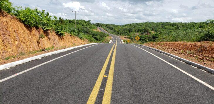 TRANSPORTES: Governo inaugura último trecho da PI 309, em Cocal