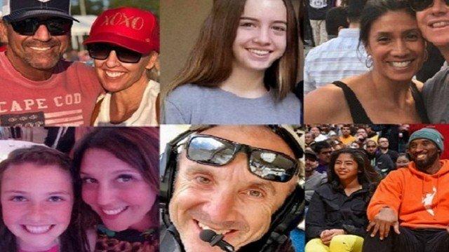 Saiba quem são outras sete vítimas do acidente que matou Kobe Bryant e a filha