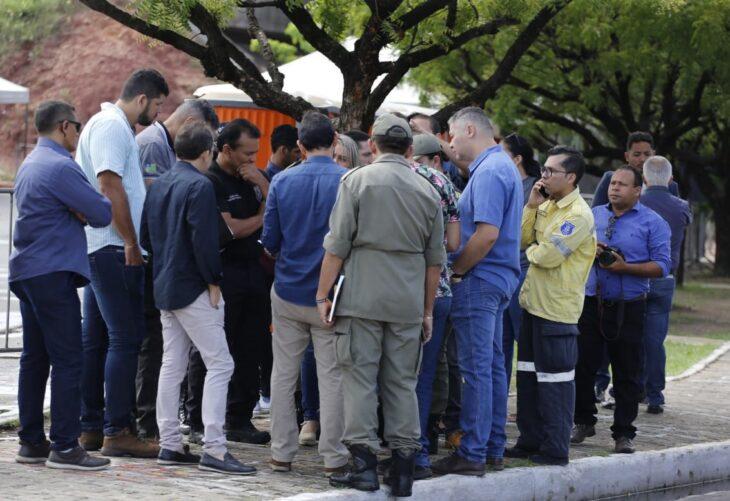 Secretário de Segurança faz visita técnica para planejamento do Corso de Teresina
