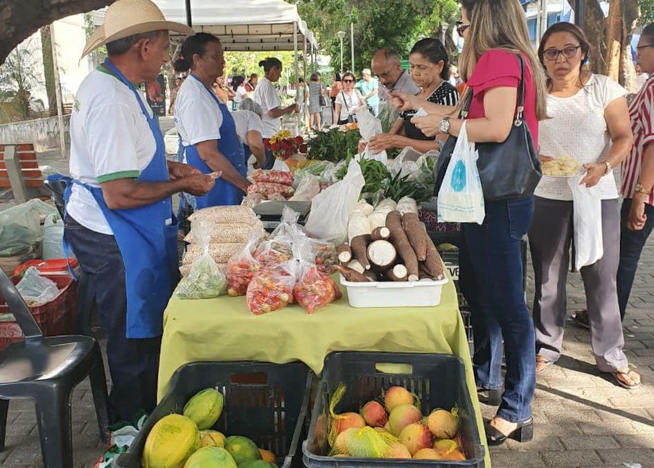 Feira da Agricultura Familiar acontece hoje (14) na Praça Rio Branco