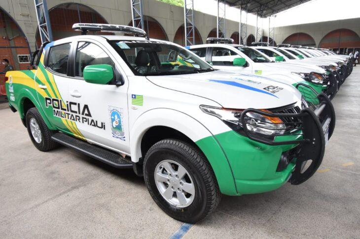 Governo do Estado entrega 24 viaturas para a Polícia Militar do Piauí