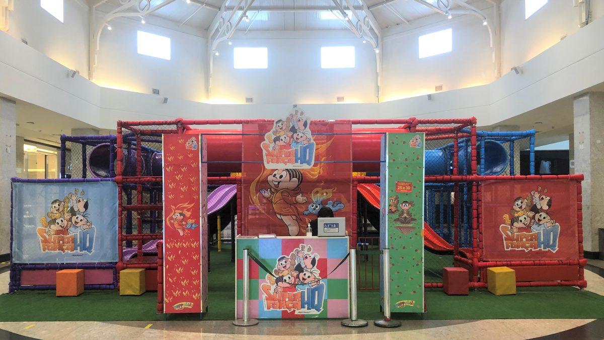 Espaço interativo da Turma da Mônica chega ao Teresina Shopping